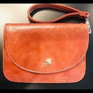 Vince Camino Brown leather waist purse Wristlet